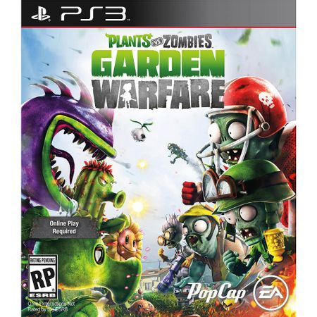 Juego Ps3 Electronic Arts Plants Vs Zombies Garden Warfare Corona