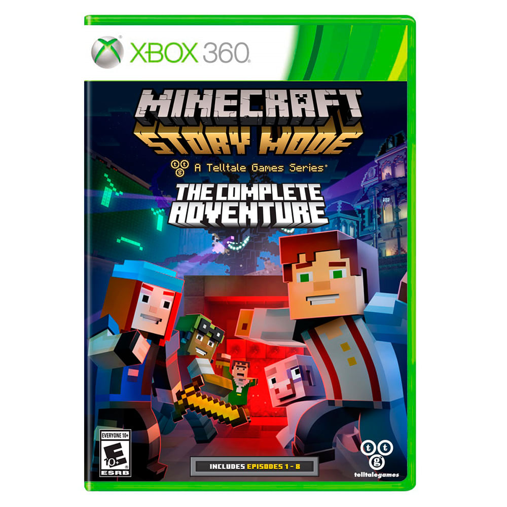 juego-xbox-360-mojang-minecraft-story-mode-complete-adventure