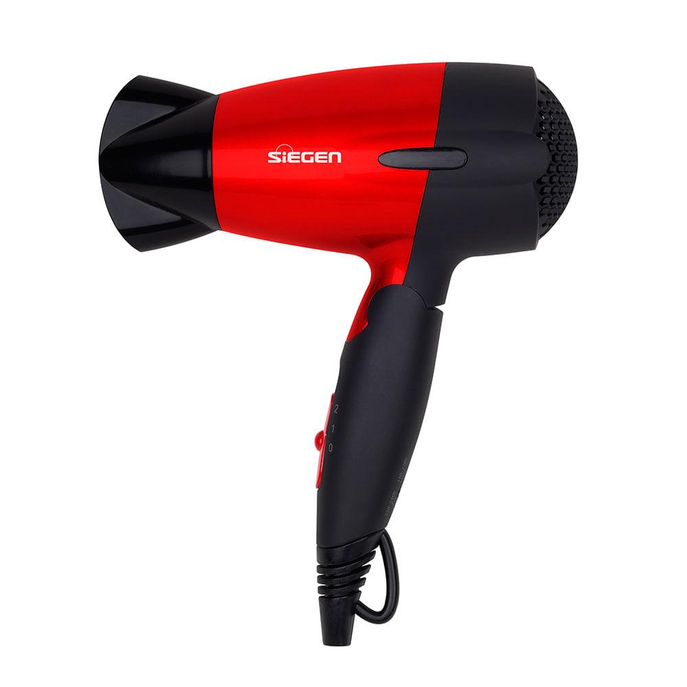 Secador de pelo sg 3011 rojo siegen corona - Secador de pelo ...