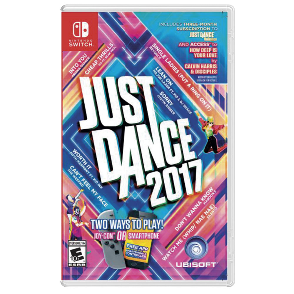 Juego Nintendo Switch Just Dance 2017 Corona