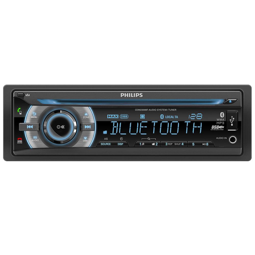 radio-auto-philips-bluetooth-cem-2300