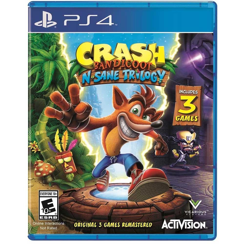 Juego Ps4 Crash Bandicoot N Sane Trilogy Corona