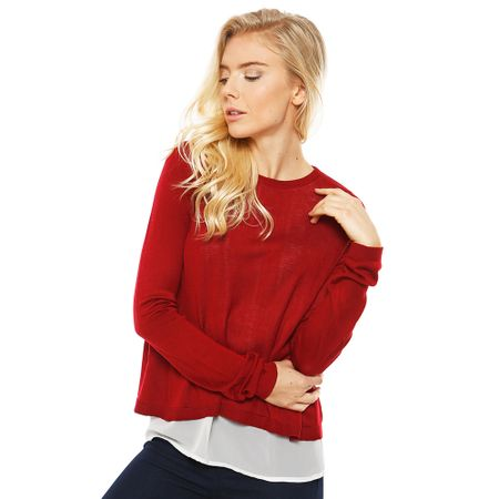 Sweater-Fabric-Mix-Burdeo-