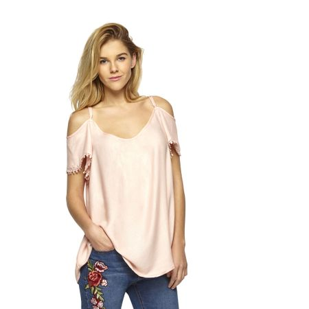 Blusa-Off-Shoulder-Manga-Macrame-Rosa-