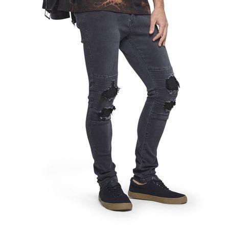 Jeams-Skinny-Destroyed-Rodilla-Pieza-INT-Black-