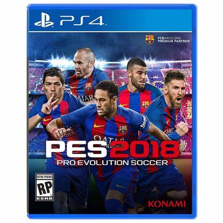 Juego-PS4-PES-2018