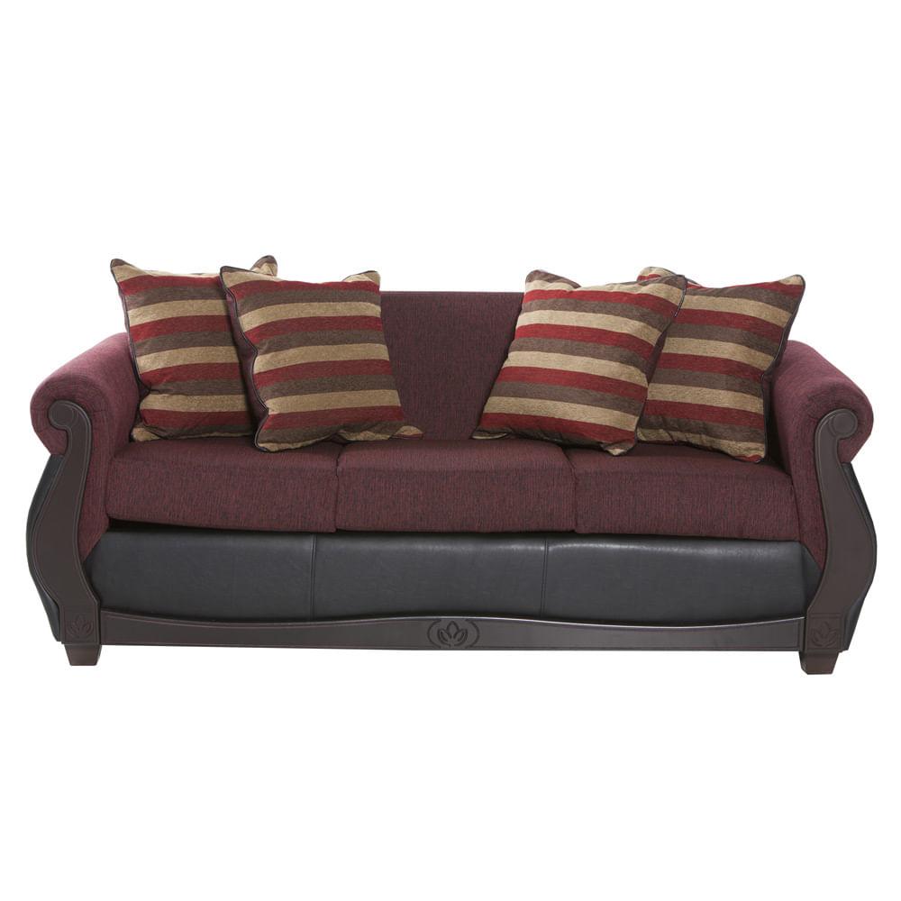sofa-innova-mobel-roma-tela-burdeo