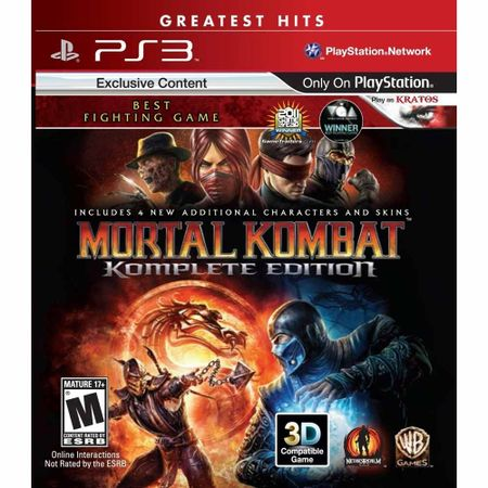 Juego-PS3-Mortal-Kombat-Complete-Edition