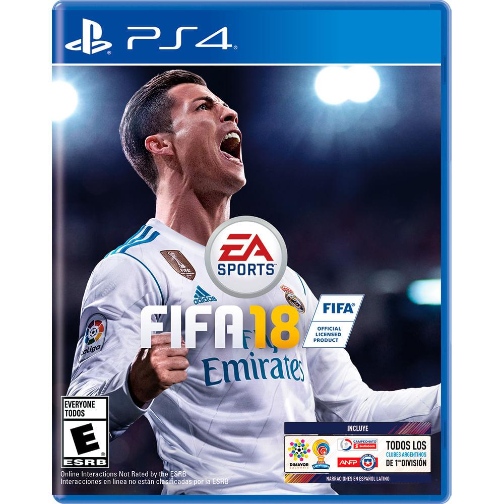 Juego-PS4-FIFA-18