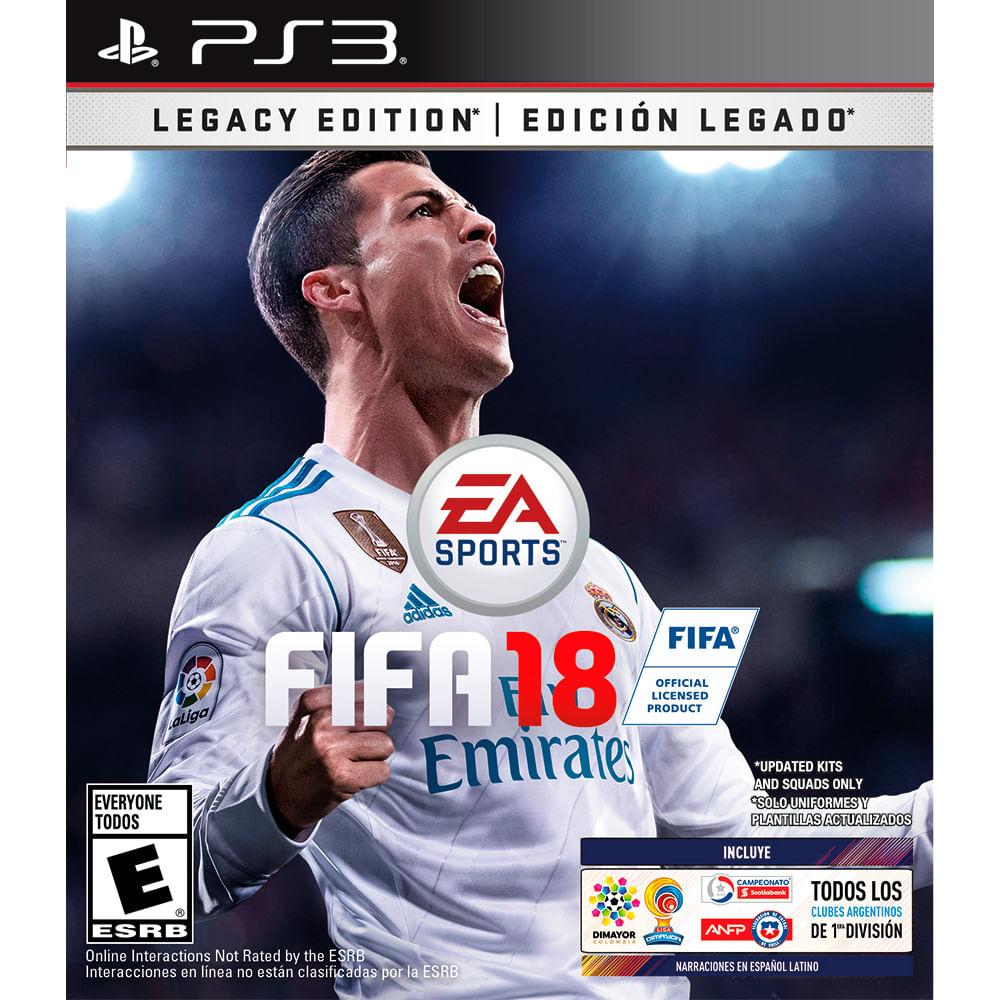 Juego-PS3-FIFA-18