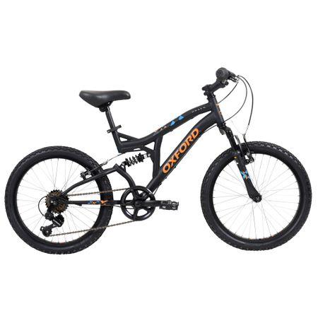 Bicicleta-Oxford-Aro-20-Drako-Negro-Naranjo-BD2015-2018