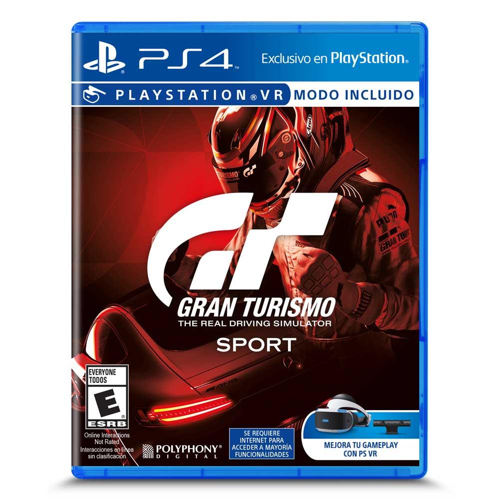 Juego Ps4 Gran Turismo Sport Corona
