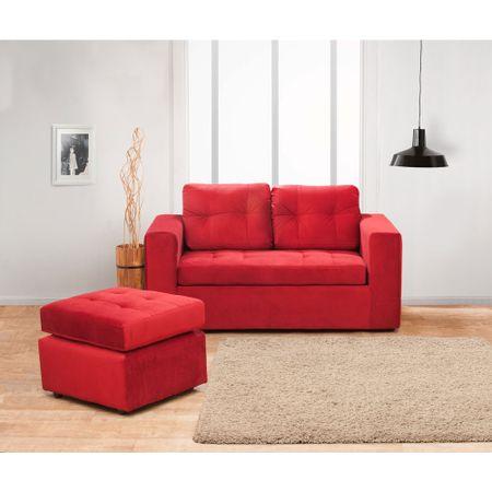 juego-de-living-kea-bilbao-sofa-2-cuerpos-1-pouf-felpa-rojo