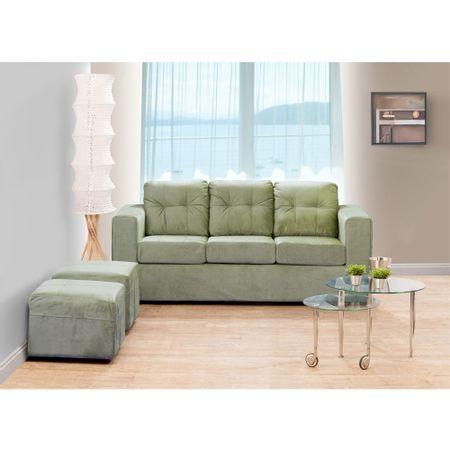 juego-de-living-kea-estela-sofa-3-cuerpos-2-pouf-felpa-oliva