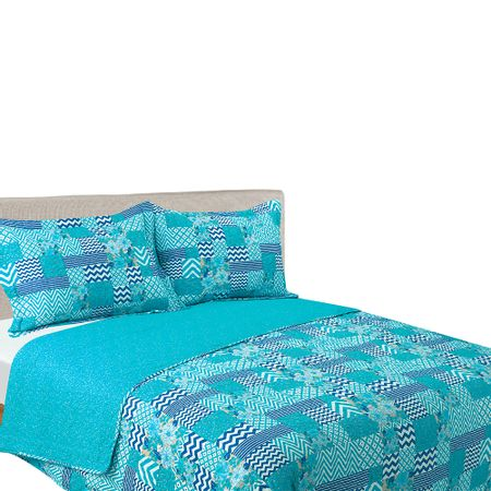 estampa-reversible-limage-quilt-2-plazas-turquesa