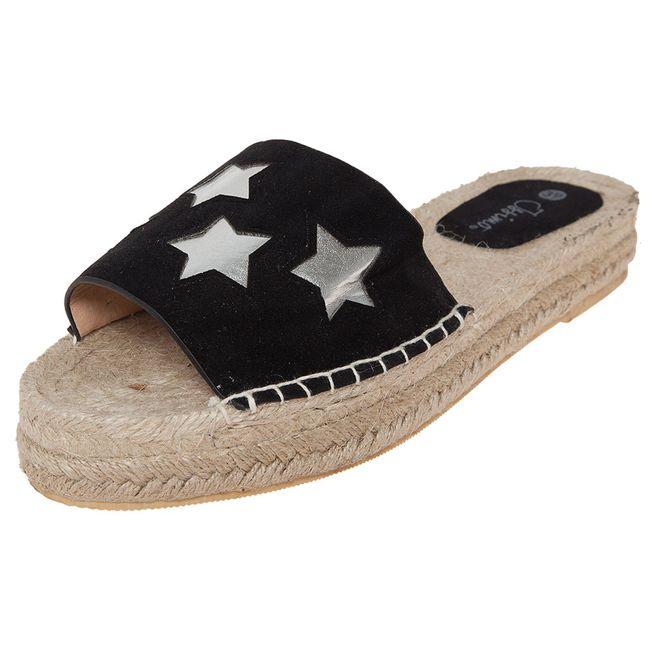 Sandalia-Mujer-Plataforma-Estrellas-Negro-