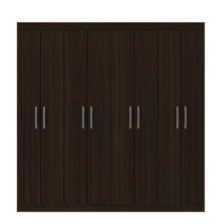 closet-exit-8-puertas-correderas-metalicas-alto-brillo-caoba