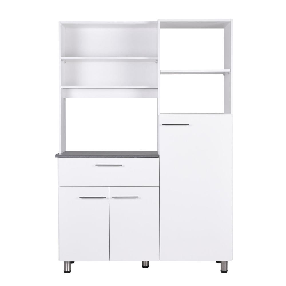 Mueble de cocina cic ancud blanco corona Mueble esquinero cocina