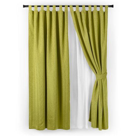 set-cortina-casa-bella-jacquard-6-piezas-pistacho