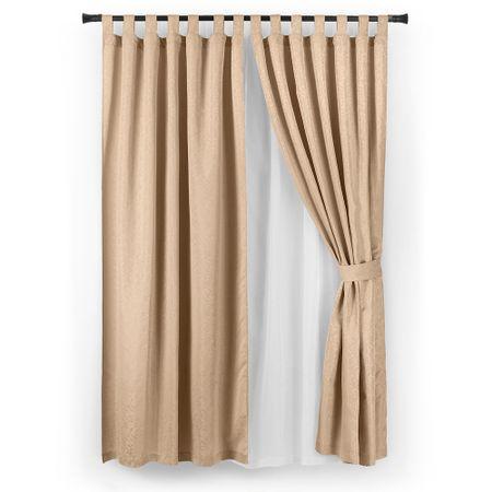 set-cortina-casa-bella-jacquard-6-piezas-beige