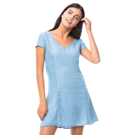 Vestido-Demin-lace-Up-Espalda-Azul-Claro-OI2018