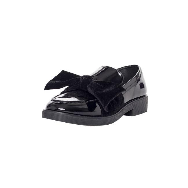 Zapato Comfort Cierre Negro Corona 1hjBa