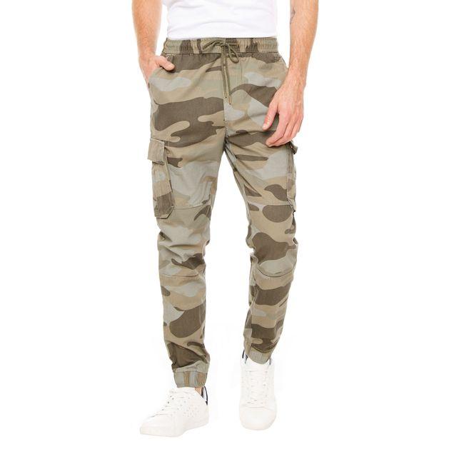 Jogger-Twill-Militar-Dust-olive-camo-OI2018
