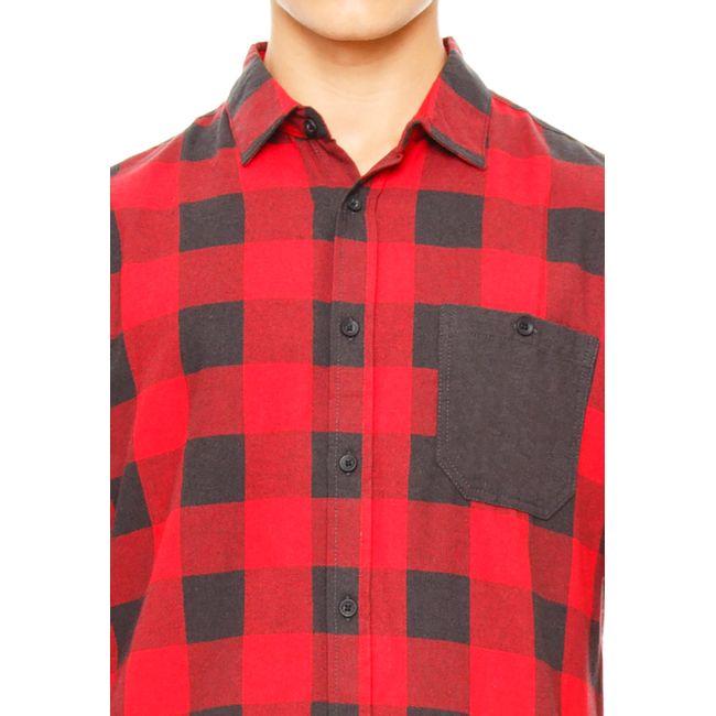 Camisa-Franela-Red-black-OI2018