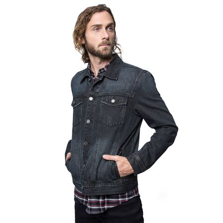 Chaqueta-Denim-Black
