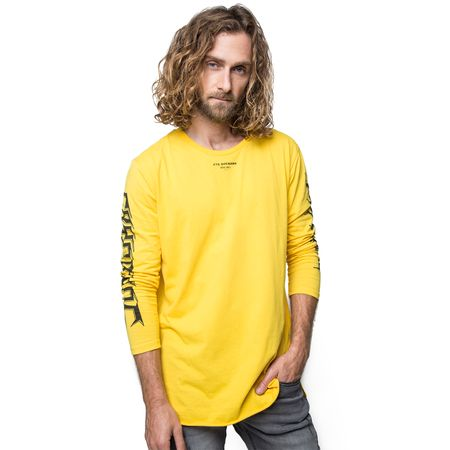Polera-Manga-Larga-Letras-Gotic-Yellow