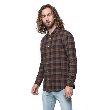 Camisa-Sport-Moda-Escocesa-Green-Navy