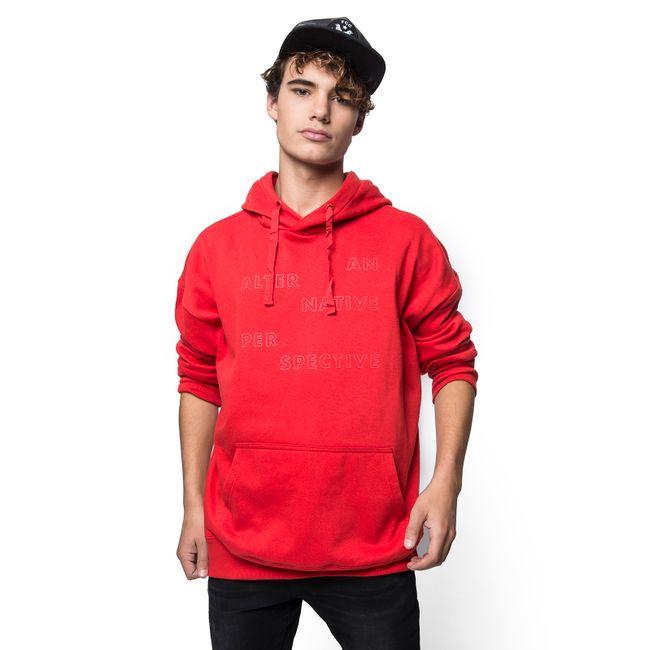Poleron-Hood-Letras-Rojo