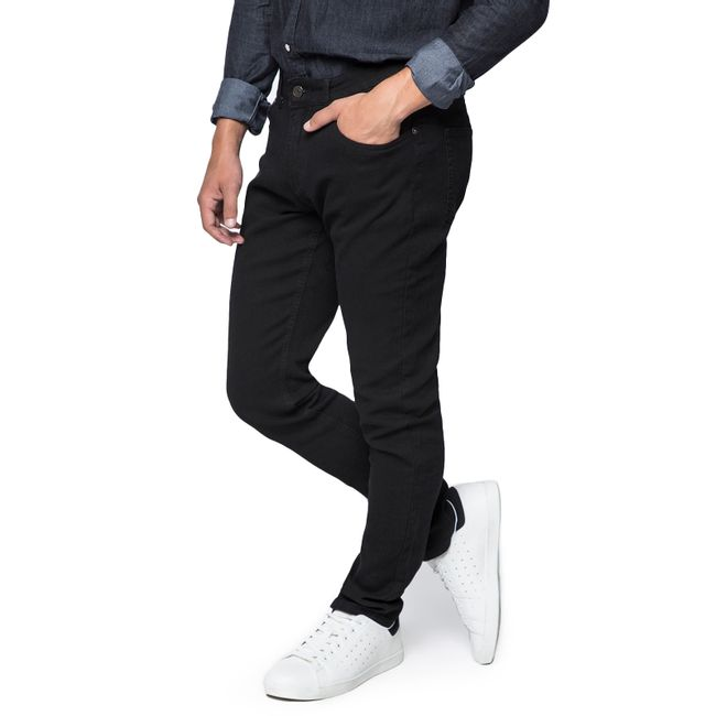 Jeans-Skinny-Knitted-Black