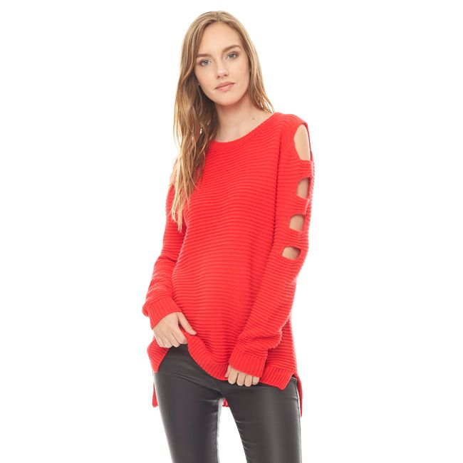 Sweater-off-Shoulder-Rojo-