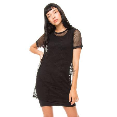Vestido-Doble-Red-Negro-