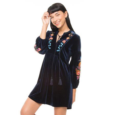 Vestido-Velvet-Bordado-Azul-