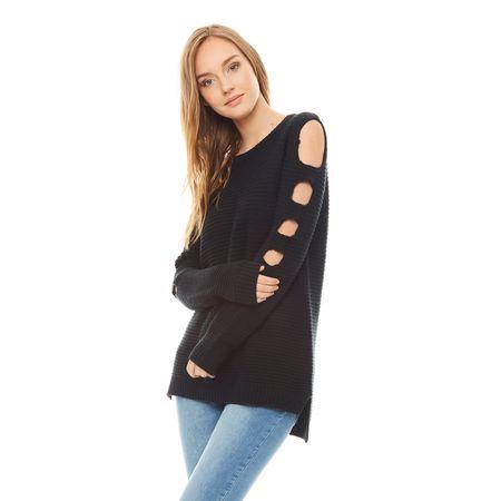 Sweater-off-Shoulder-Negro-