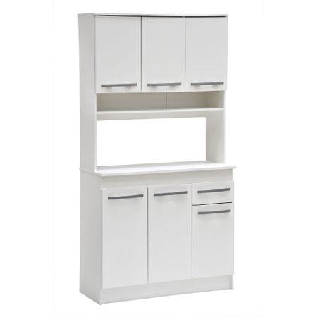compacto-cocina-mobikit-blanco-6-puertas-1-cajon-90x38x180