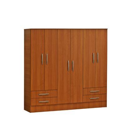 closet-mobikit-6-puertas-4-cajones-peral-1821x485x1825