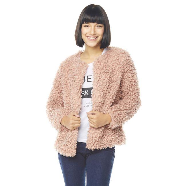 Chaqueta-Corta-Pelo-Furry-coat-Rosa
