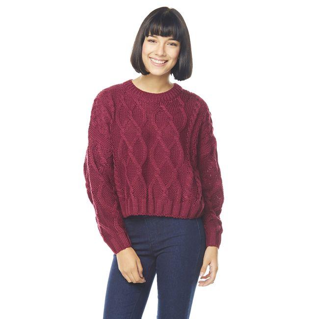 Sweater-Crop-Trenzado-Burdeo