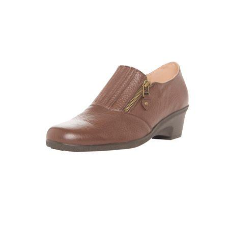Zapato-Comfort-Cierre-Cafe-