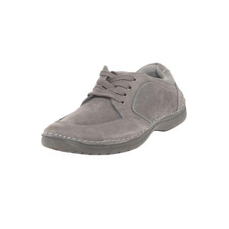 Zapato-Sport-clasico-Cuero-Gris-