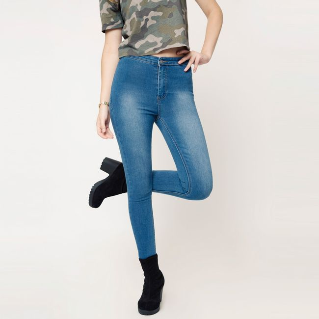Jeans-High-Rise-Skinny-Azul-