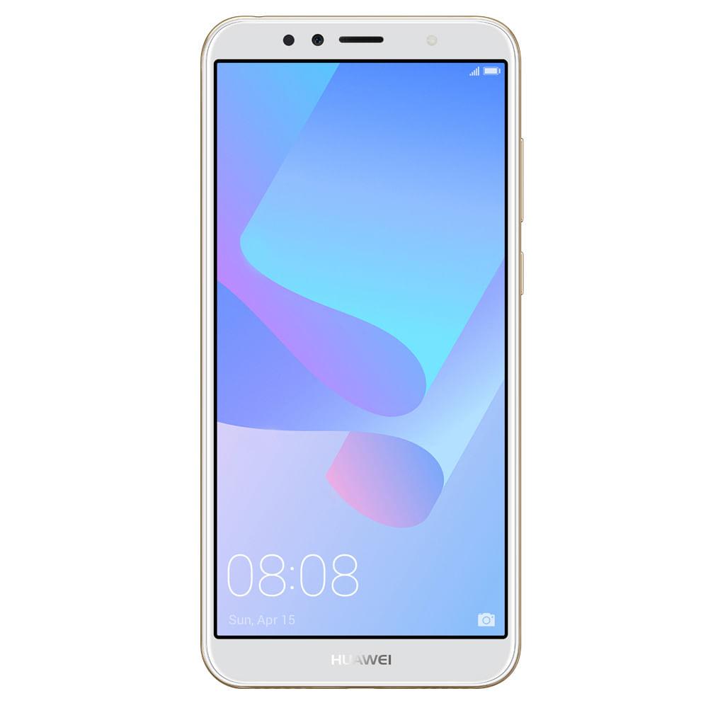 b7ac5a1407885 Smartphone Huawei Y6 2018 Dorado Claro - Corona