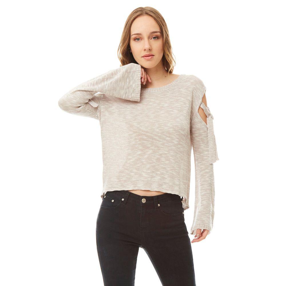 Sweater-Off-Shoulder-Amarras-Taupe-Melange-PV19-1