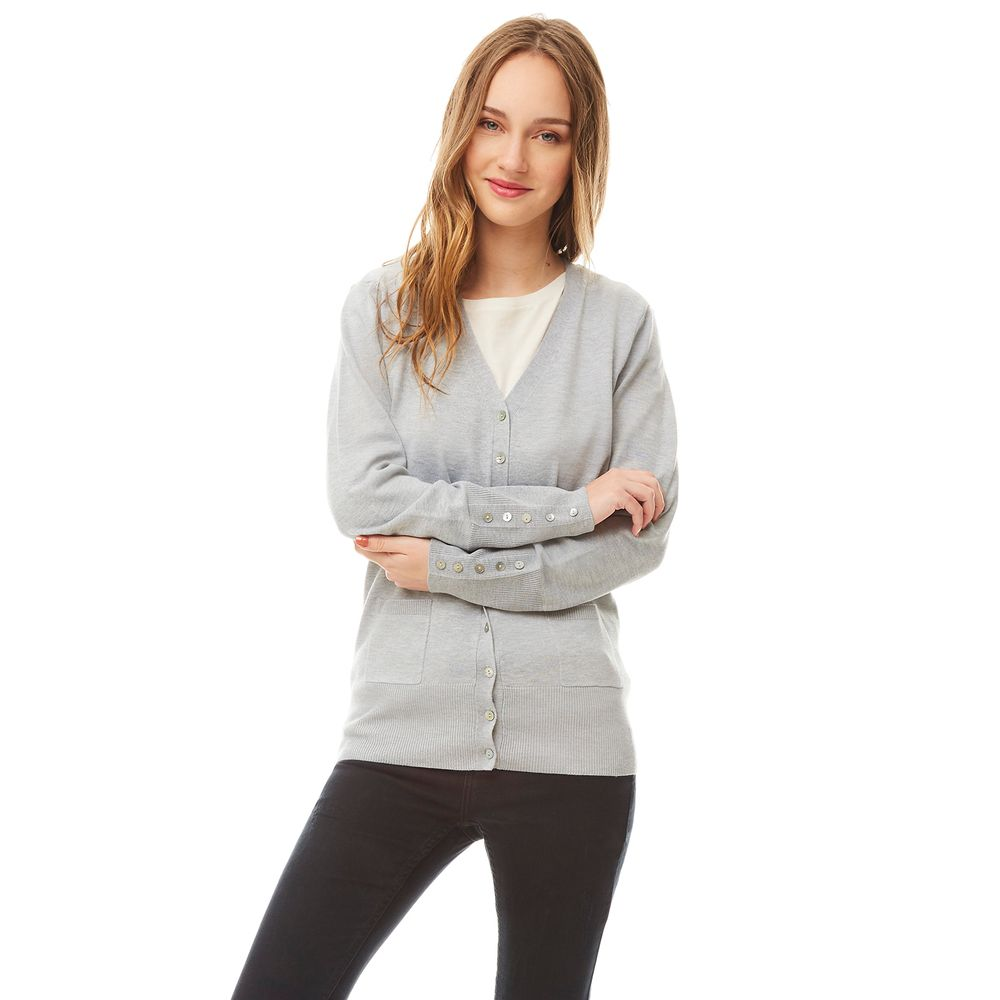 Sweater-Abotonado-Gris-Claro-Melange-PV19-1