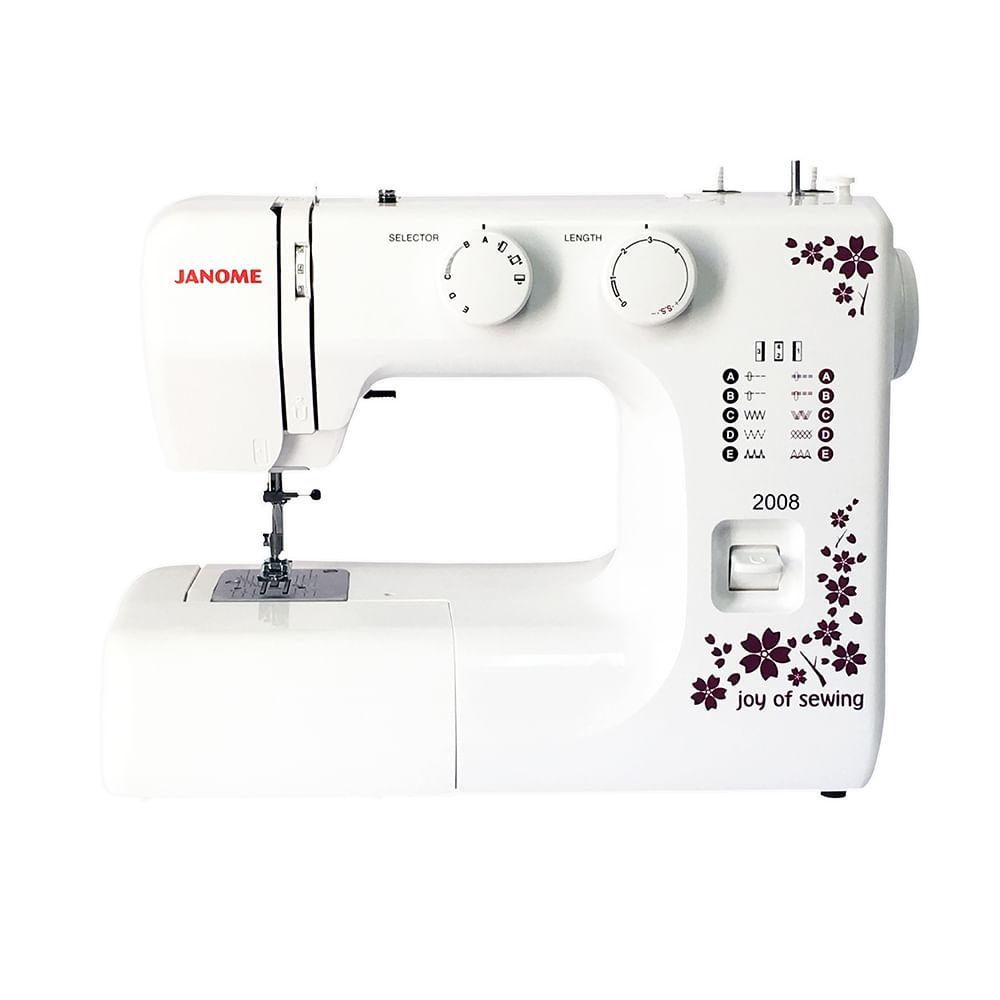 Maquina coser Janome 2008