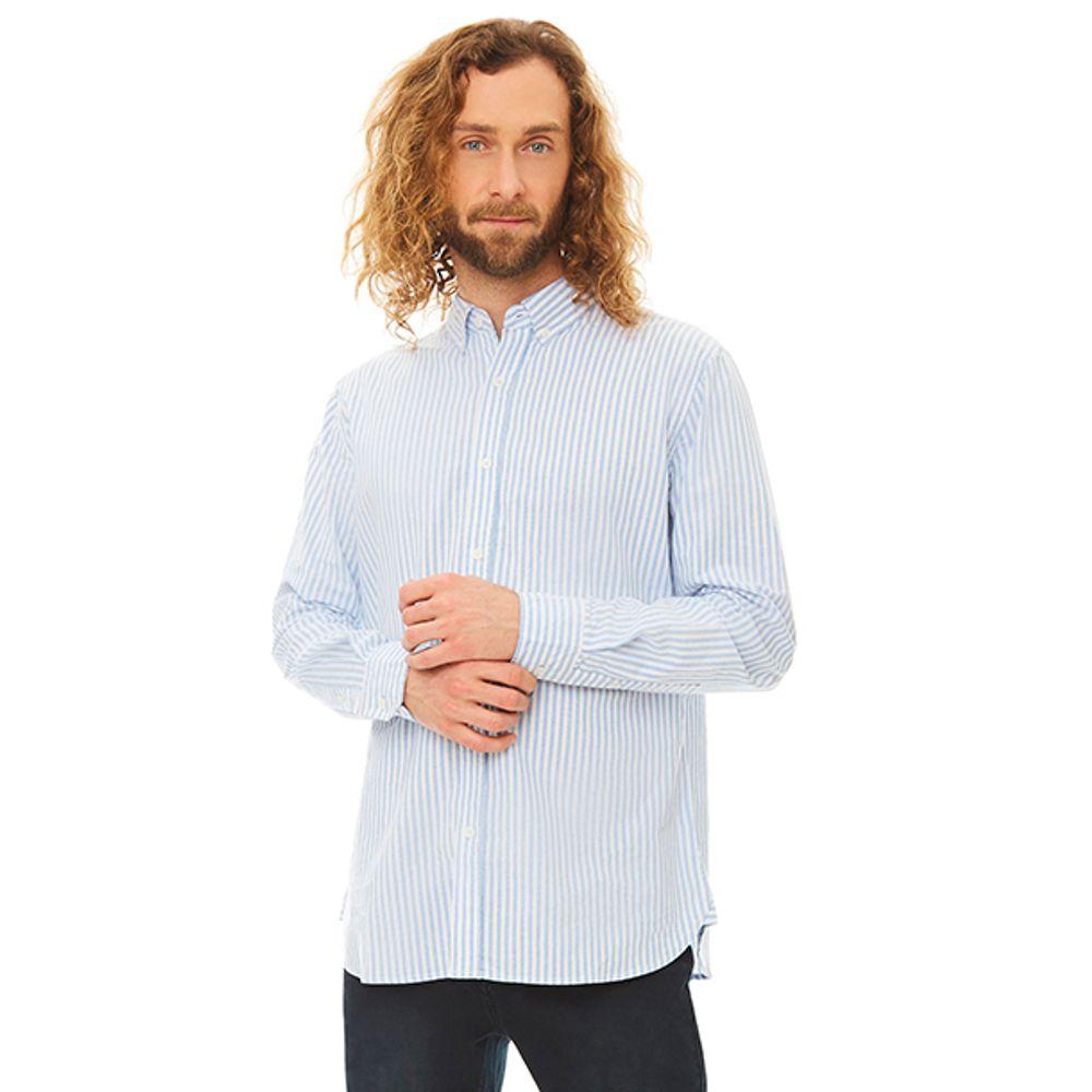 Camisa-Linea-Oxford-Vertical-Azul-Claro-Blanco-PV19-Talla-S-PV19-1
