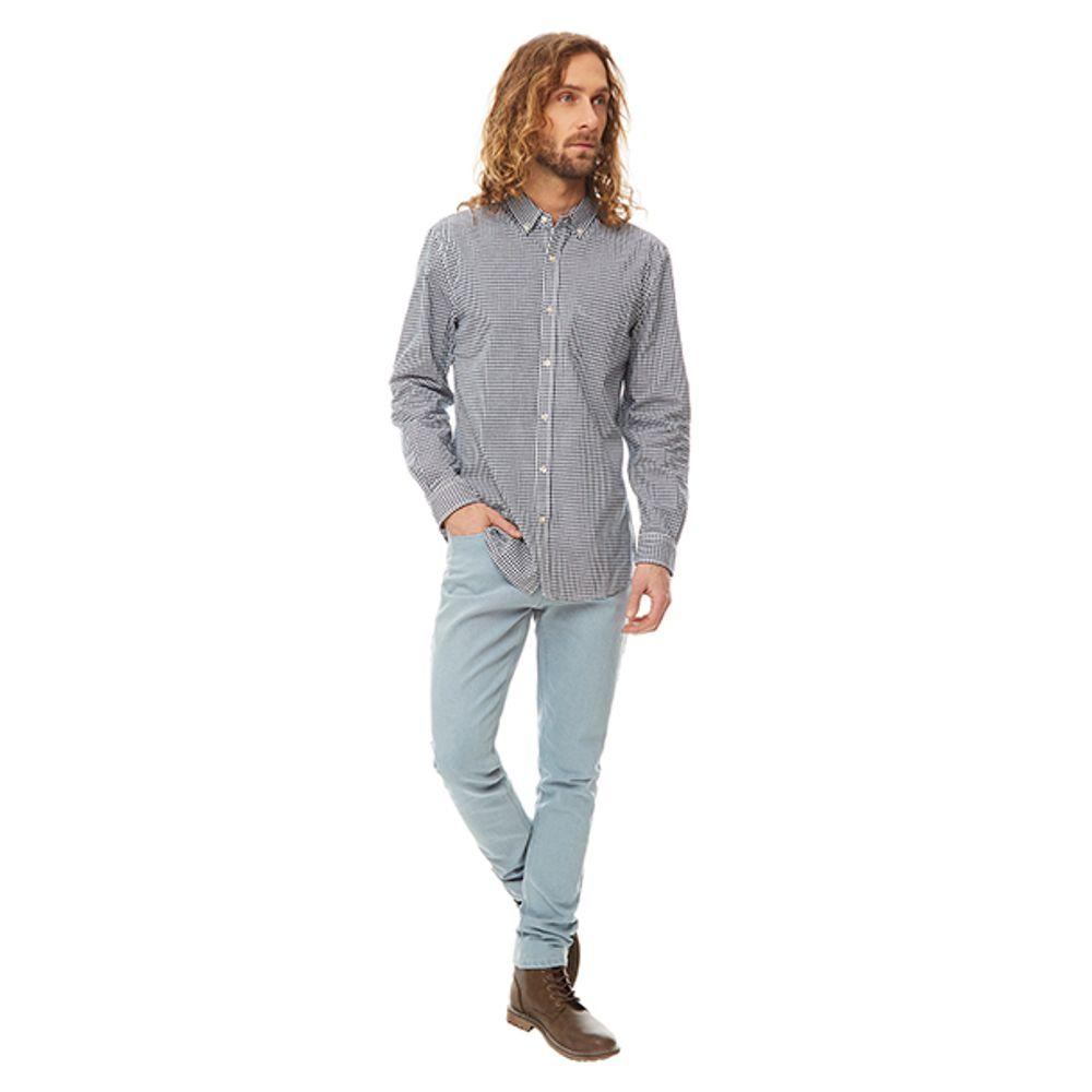 Camisa-Minicheck-Vichy-Blanco-Azul-Marino-PV19-Talla-S-PV19-1